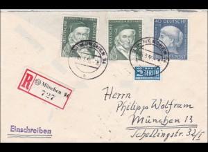 Einschreiben aus München 1955