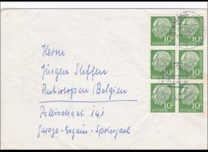 Brief aus Blankenese nach Belgien 1959