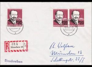 Einschreiben aus München 1957