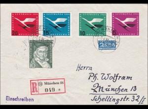 Einschreiben aus München 1954