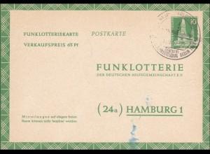Funklotterie Karte 1960: FP56