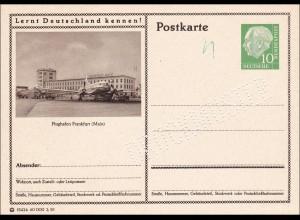 Ganzsache - DRUCKMUSTER - Flughafen Frankfurt/Main