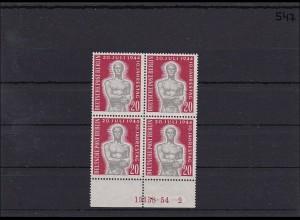 Berlin MiNr. 119, ** postfrisch, ungefaltet, HAN, Viererblock
