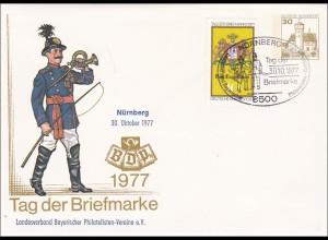 Ganzsache: Tag der Briefmarke 1977