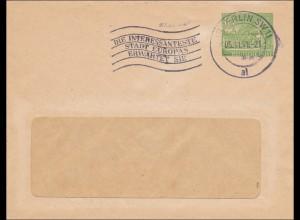 Brief Berliner Wasserwerke 1951 - Werbestempel Berlin