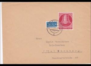 Brief 1951 nach Nürnberg