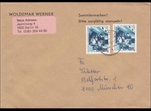 Brief von Berlin nach München - MeF