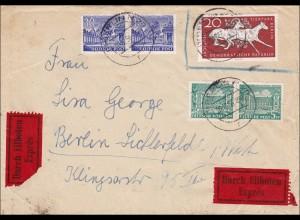 Eilboten Brief nach Lichtenfelde 1956
