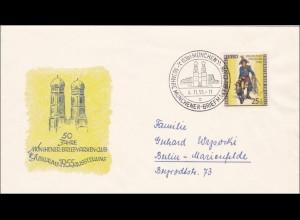 Münchner Briefmarken Club 1955 nach Berlin - Jubiläum