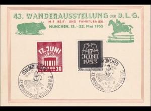Wanderausstellung Reit- und Fahrturnier 1955 - München