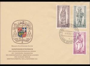 FDC 25 Jahre Bistum Berlin 1955