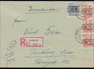 Einschreiben nach Würzburg 1948