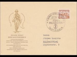 FDC Bautenserie 1954 - Berufs-Philatelisten Tage in Berlin