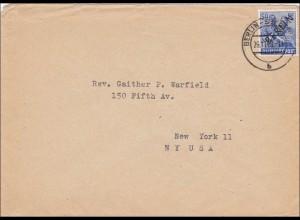 Brief 1948 nach USA