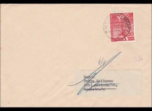 Berlin nach Koblenz 1953 - unbekannt - Auskunft Briefträger