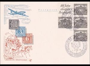 100 Jahre deutsche Briefmarken 1949 Wilmersdorf Jubiläum