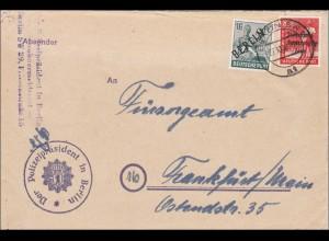 Polizeipräsident Berlin nach Frankfurt Main 1948