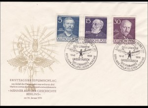 FDC: Otto Lilienthal 1958