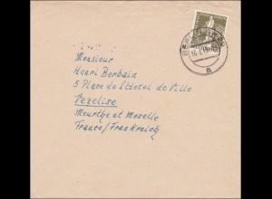 Brief 1949 von Berlin nach Frankreich