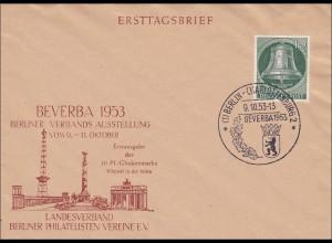 BeVerBa 1953 - Sonderstempel