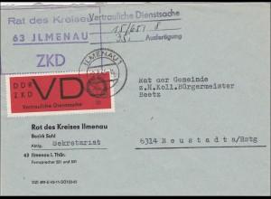 DDR: 1965 ZDD_VD von Ilmenau nach Neustadt a/Rstg