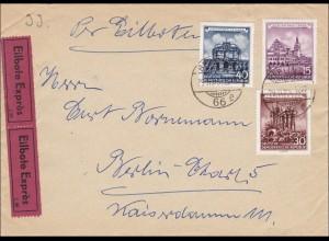 DDR: 1955 Eilbote von Berlin