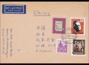 1957: Brief aus Berlin-Friedrichshagen nach China