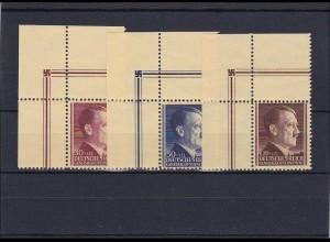 Generalgouvernement (GG) AH, **, MiNr. 89-91, Eckrand E2