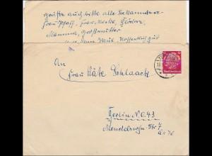 Brief aus der Postschutzschule Templin Zug 3 mit Inhalt
