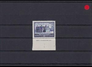 (GG) Bauten II, 2 Zloty - SektorenNr 1, ungez. Unterrand **