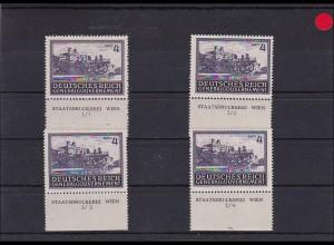 Generalgouvernement (GG) Bauten, **, 113-116, Sektorennummer 4 Zloty